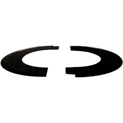 Split Angled Rosette Collar